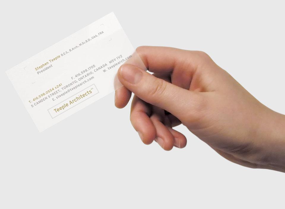 Teeple-Architects-Card
