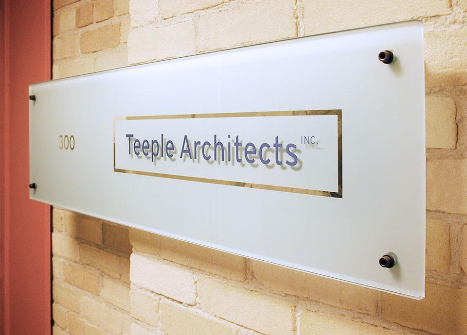 Teeple-Architects-Interior-Sign